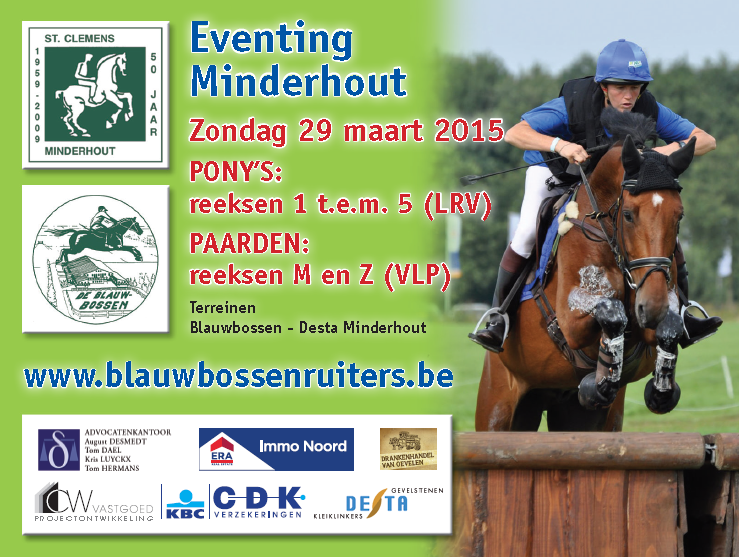 Eventing Minderhout 2015