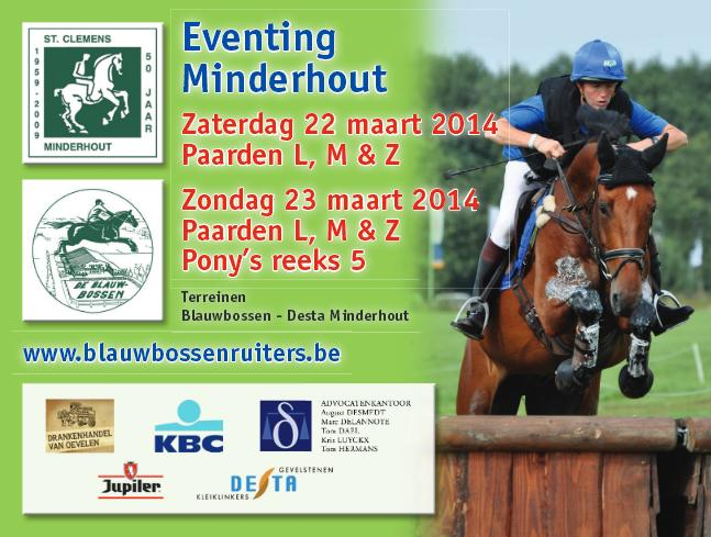 Eventing Minderhout 2014